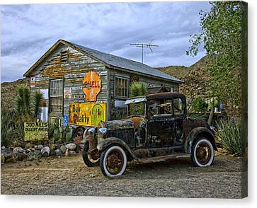 Back Road U S A Canvas Print by Movie Poster Prints