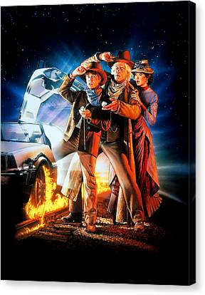 Back To The Future Part IIi 1990 Canvas Print by Unknow