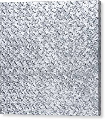 Background Of Metal Floor Canvas Print by Germano Poli