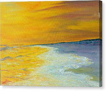 Backwash Canvas Print by Conor Murphy