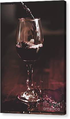 Bad Table Service With A Pour Aim Canvas Print by Jorgo Photography - Wall Art Gallery