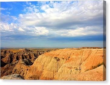 Badlands Canvas Print by Kimberly Oegerle