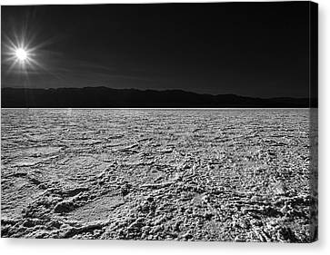Badwater Canvas Print by Peter Tellone