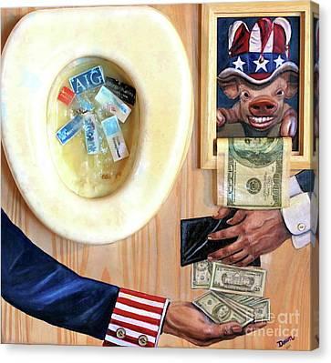 Bail Out Canvas Print by Dawn Graham