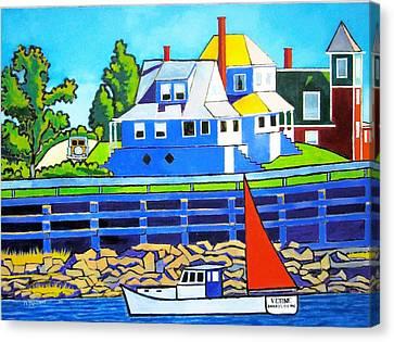 Bailey's Island Canvas Print by Nicholas Martori