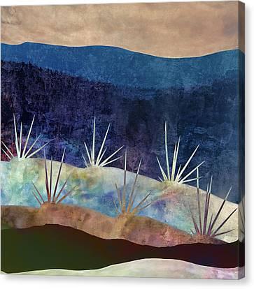 Baja Landscape Number 2 Canvas Print by Carol Leigh