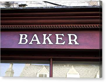 Baker Shop Canvas Print by Tom Gowanlock