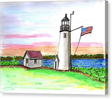 Bakers Island Canvas Print by Paul Meinerth