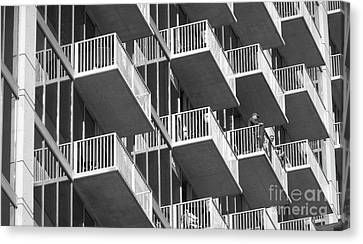Balcony Colony Canvas Print by WaLdEmAr BoRrErO
