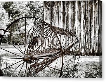 Bale The Hay Canvas Print by Greg Sharpe