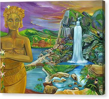Bali Dream Canvas Print by John Keaton