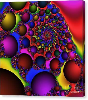 Ball Galaxy 203 Canvas Print by Rolf Bertram