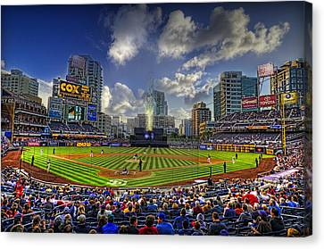 Ball Park Canvas Print by Corey Gautereaux