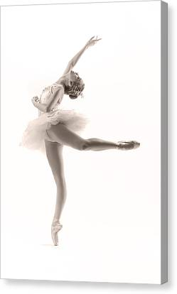 Ballerina Canvas Print by Steve Williams