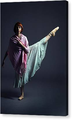 Ballet Dancer Canvas Print by Artur Bogacki