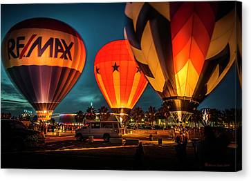 Balloon Glow Canvas Print by Marvin Spates