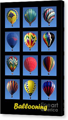 Ballooning Canvas Print by Olivier Le Queinec