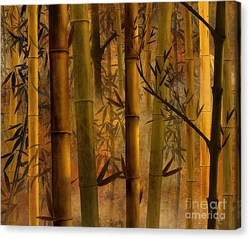 Bamboo Heaven Canvas Print by Bedros Awak