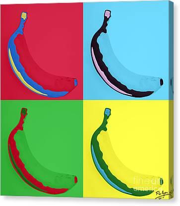 Banana 25 Canvas Print by Flo Ryan