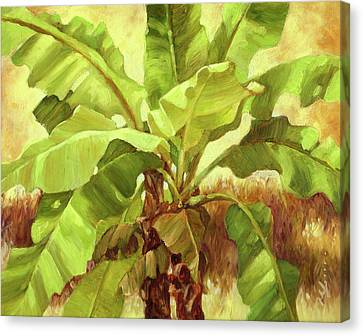 Bananas At Casa Cielo Canvas Print by Monica Linville