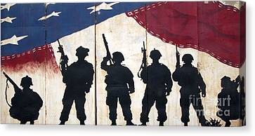 Band Of Brothers - Operation Iraqi Freedom Canvas Print by Unknown