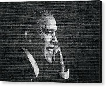 Barack Obama Canvas Print by Steven Michael