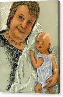 Barb And Jacob Canvas Print by Marina Garrison