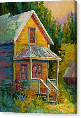 Barkerville Orphan Canvas Print by Marion Rose