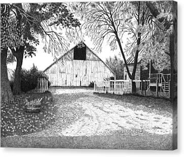 Barn 20 Canvas Print by Joel Lueck