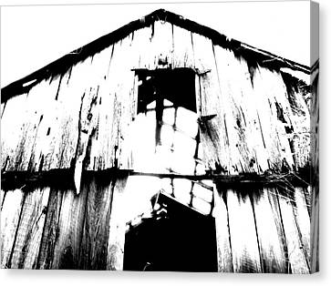 Barn Canvas Print by Amanda Barcon