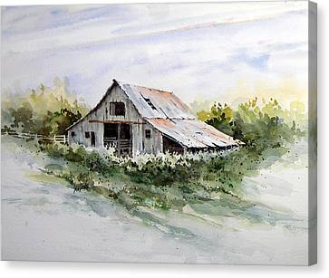 Barn Canvas Print by Sam Sidders