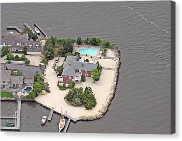 Barnegat Bay House Mantoloking New Jersey Canvas Print by Duncan Pearson