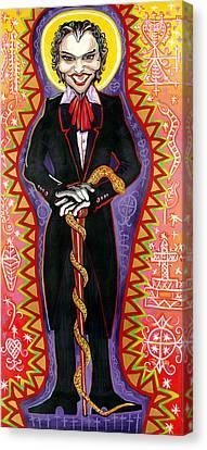 Baron Samedi Canvas Print by Mardi Claw
