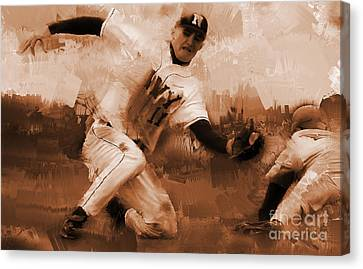 Base Ball 01  Canvas Print by Gull G