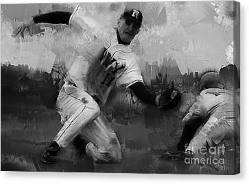 Base Ball  Canvas Print by Gull G