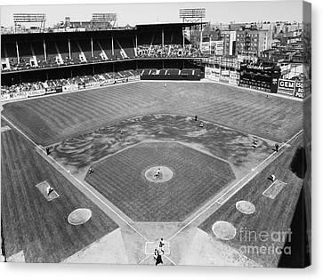 Baseball Game, C1953 Canvas Print by Granger