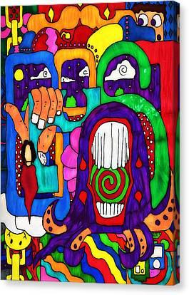 Basic Canvas Print by Pennie  McCracken