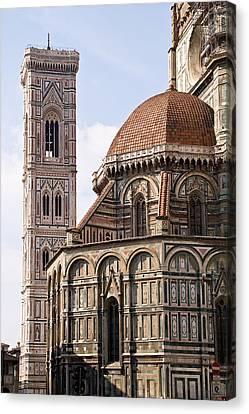 Basilica Di Santa Maria Del Fiore  Canvas Print by Carl Jackson