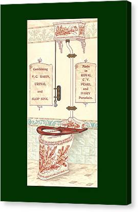 Bathroom Picture Five Canvas Print by Eric Kempson
