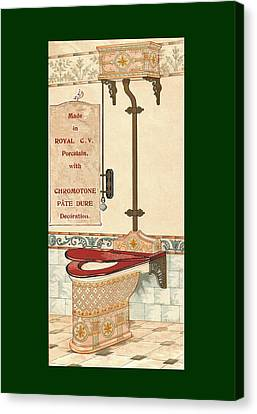 Bathroom Picture Six Canvas Print by Eric Kempson
