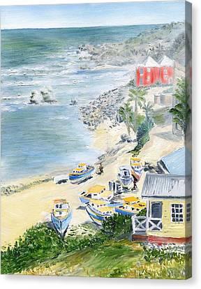 Bathsheba Lookout Canvas Print by Richard Jules