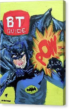 Batman Day 15 Canvas Print by B T