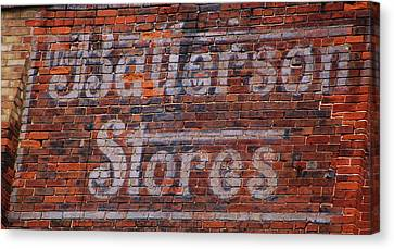 Batterson Stores Canvas Print by Jame Hayes