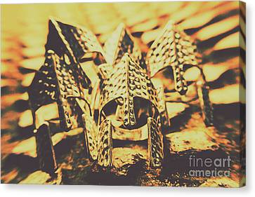 Battle Armoury Canvas Print by Jorgo Photography - Wall Art Gallery
