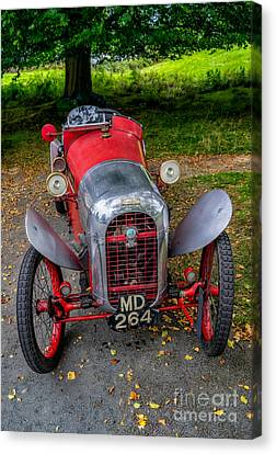 Baughan Cyclecar  Canvas Print by Adrian Evans