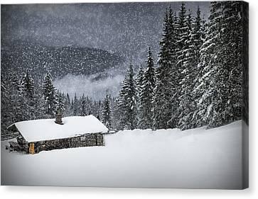 Bavarian Winter's Tale II Canvas Print by Melanie Viola