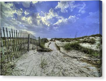 Bay County Beaches Canvas Print by JC Findley
