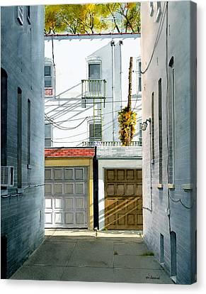 Bay Ridge Alley Canvas Print by Tom Hedderich