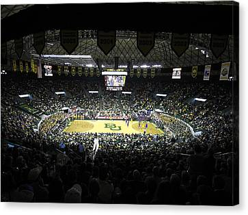 Baylor Bears Sellout Ferrell Center Canvas Print by Replay Photos