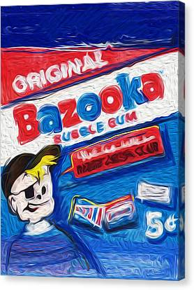 Bazooka Joe Canvas Print by Russell Pierce